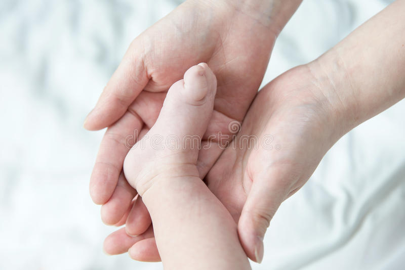 La photo a été prise de nouveau-né à l'obstétrique et gynécologie photos libres de droits