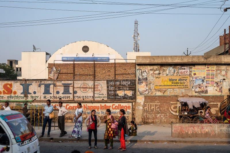 La photo franche de la vue de ville de Delhi photos stock