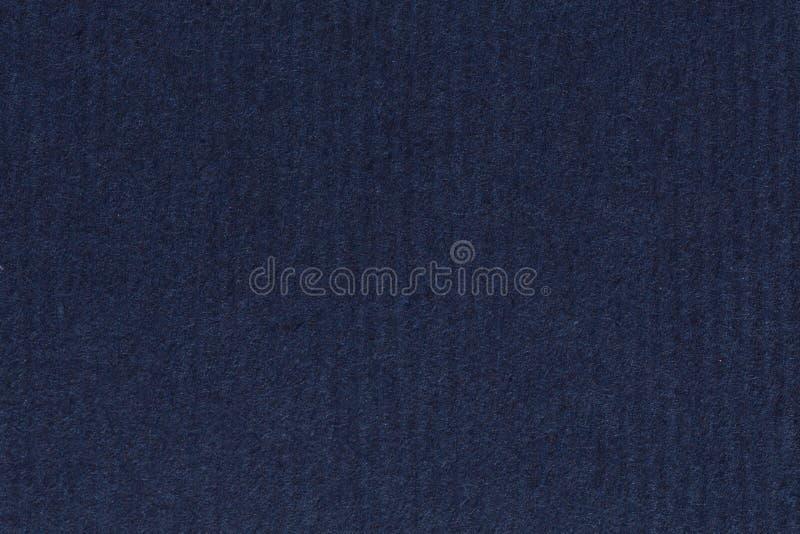 La photographie du bleu marine foncé et profond réutilisent le papier rayé, frais supplémentaires photo stock