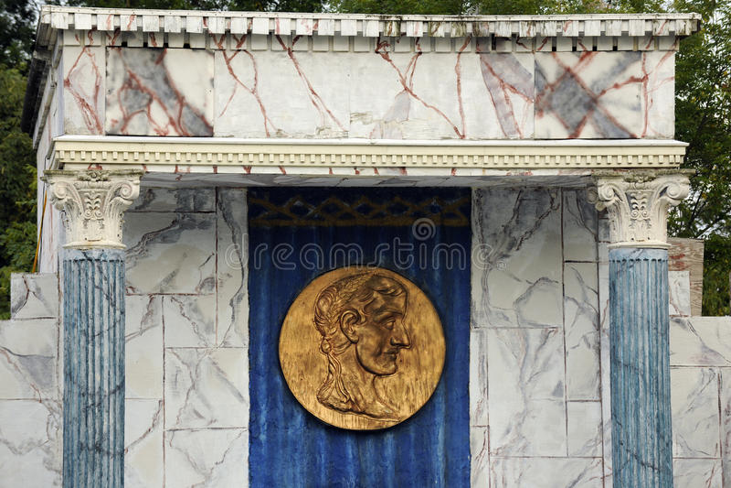 La pièce de monnaie de César photos libres de droits