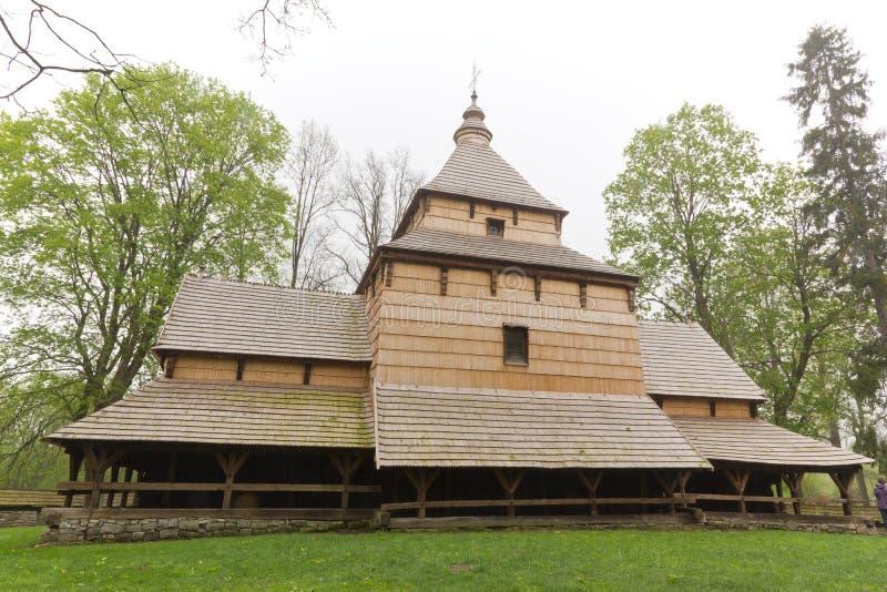 La più vecchia architettura orientale della chiesa ortodossa in Polonia nel radruz a partire dallo XVI secolo fotografia stock
