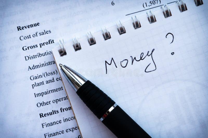 La pianificazione aziendale finanziaria, equilibra il portafoglio di investimento fotografia stock