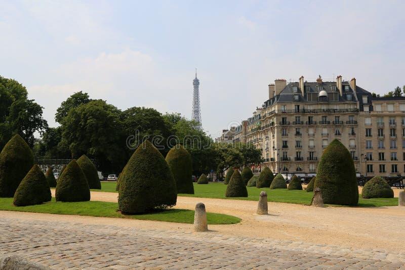 La pianta di Parigi fotografia stock libera da diritti