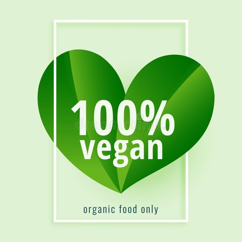 La pianta verde ha basato il fondo di dieta del vegano illustrazione di stock
