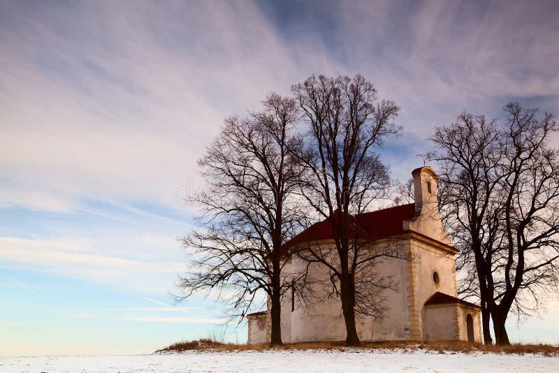 La piccola chiesa fotografie stock