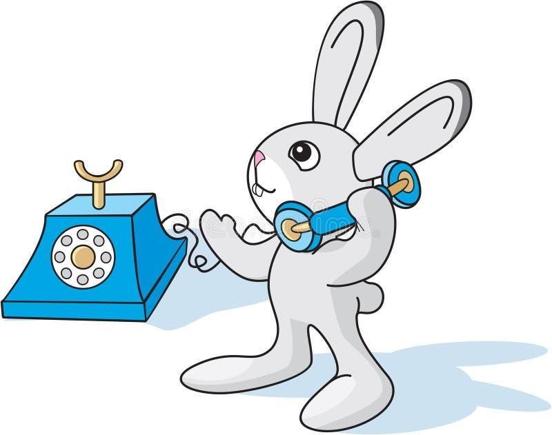 La piccola lepre è chiamate illustrazione di stock