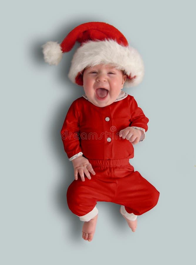 La piccola Santa bambina fotografia stock
