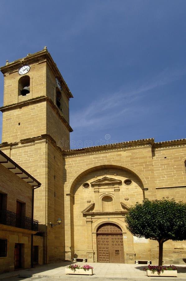 La Piedad Church, Casalareina, La Rioja de Nuestra Señora de imágenes de archivo libres de regalías
