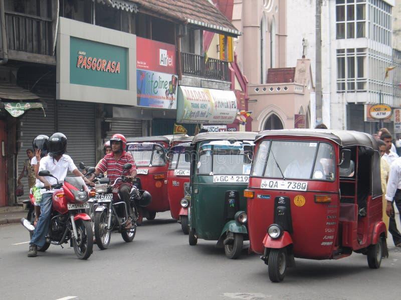 La pieghettatura pieghetta dentro Colombo immagini stock libere da diritti
