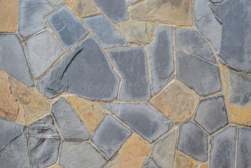 La pierre bascule la texture de mur photo stock