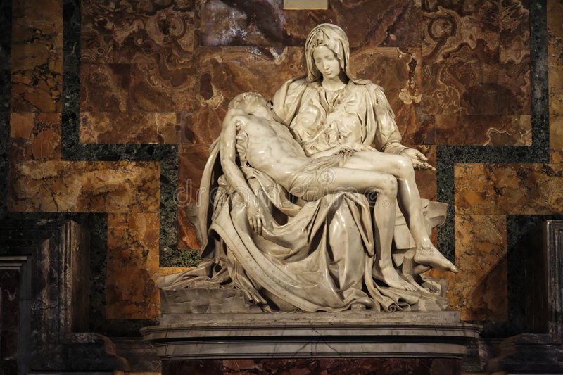 La Pieta Saint Peter Basilica Vatican stock photography