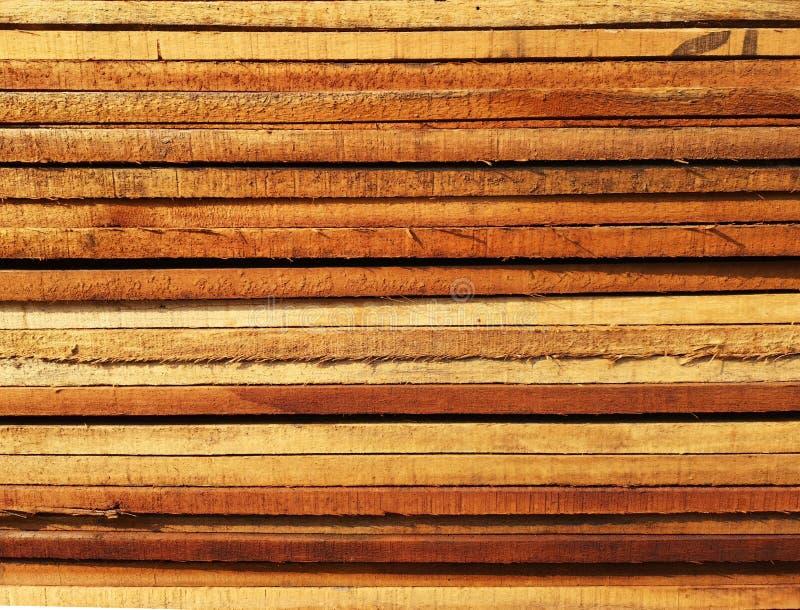 La pila di legno ha impilato insieme la natura incide i pezzi per la pianta del ‹del background†della superficie di struttura d fotografia stock libera da diritti