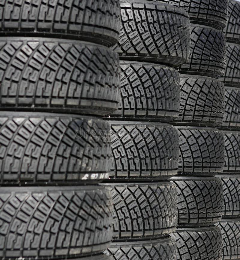La pile du pneu photos libres de droits