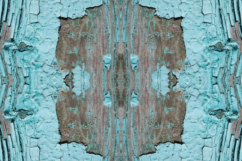 la pintura azul clara peló apagado la madera, cartelera imágenes de archivo libres de regalías
