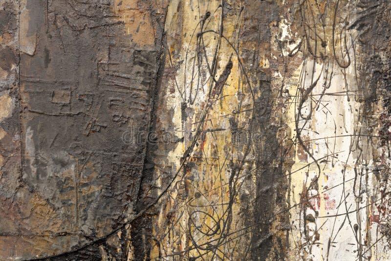 La pintura decorativa abstracta de la pintura de la laca, adobe rgb imagen de archivo