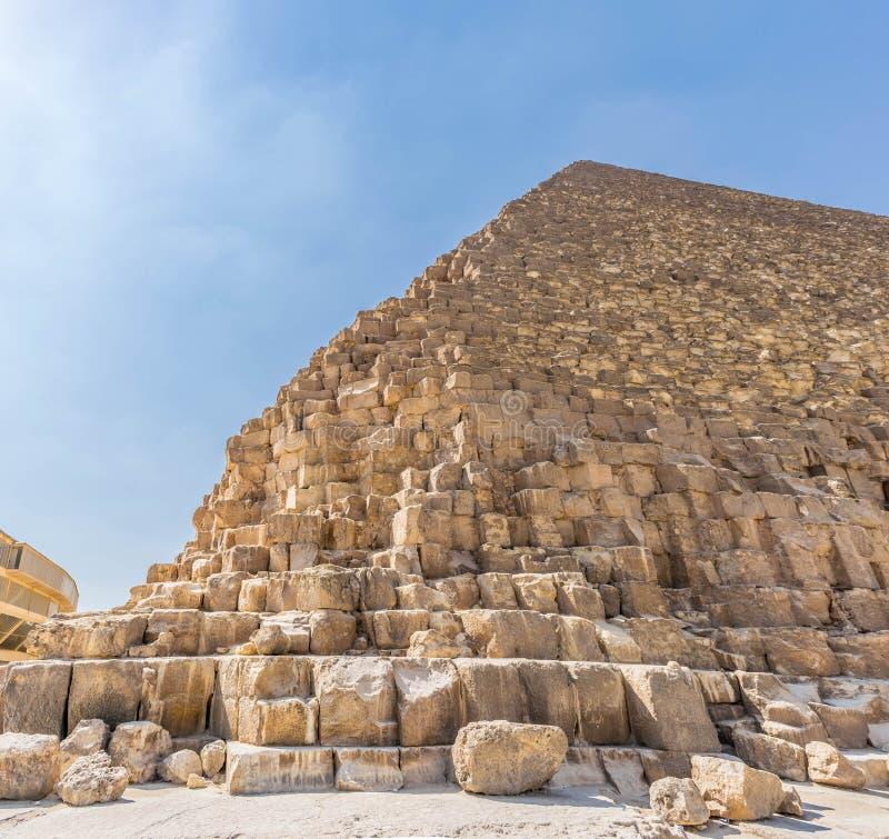 La pirámide de Cheops en Egipto fotografía de archivo libre de regalías