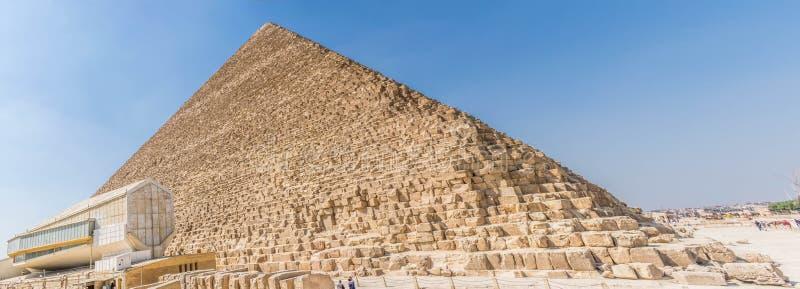 La pirámide de Cheops en Sahara Desert foto de archivo
