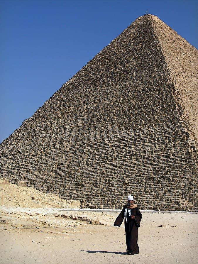 La piramide antica immagini stock