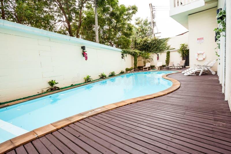 La piscina fotografía de archivo