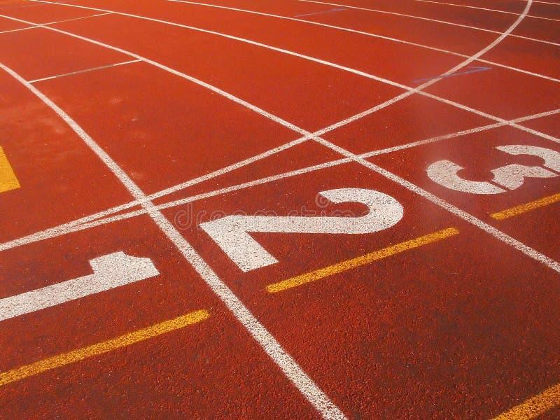 La pista 03 immagine stock