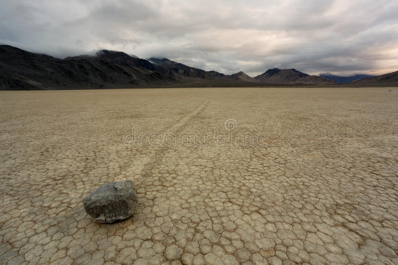 La pista Playa en el parque nacional de Death Valley fotos de archivo libres de regalías