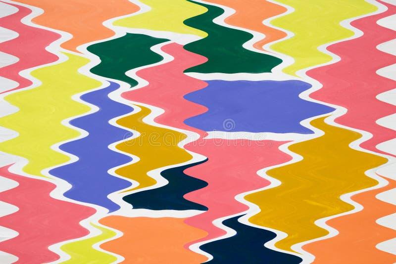 La pittura colorata spruzza isolato su fondo bianco illustrazione di stock