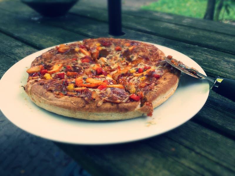 La pizza fotografía de archivo libre de regalías