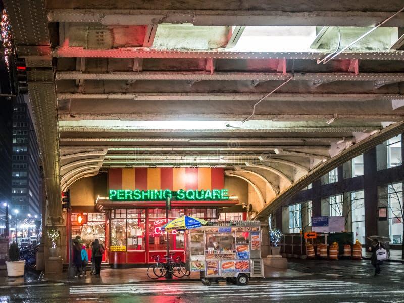 La place de Pershing image stock
