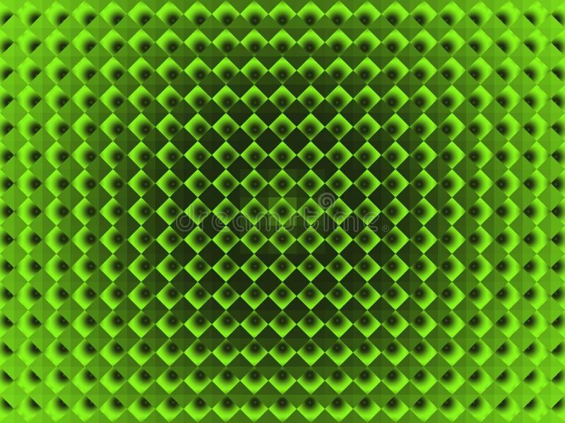 La place des diamants, avec un gradient radial illustration libre de droits