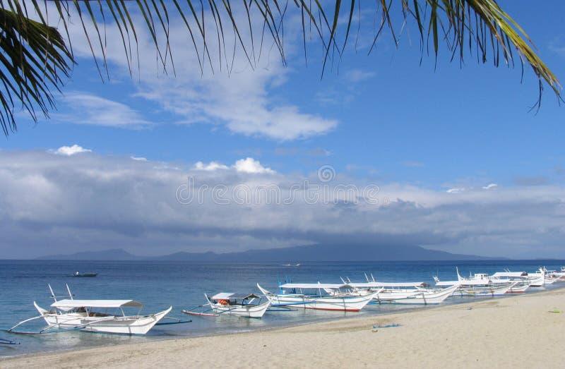 La plage 7 photos libres de droits