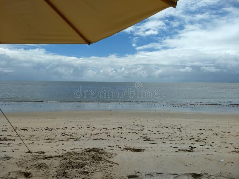 La plage de Maria Farinha photo stock
