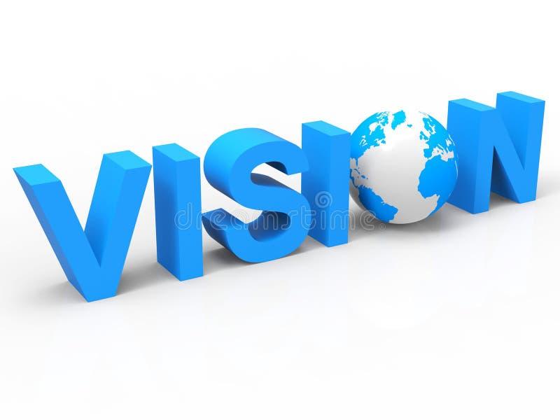La planification d'Internet indique le World Wide Web et les aspirations illustration stock