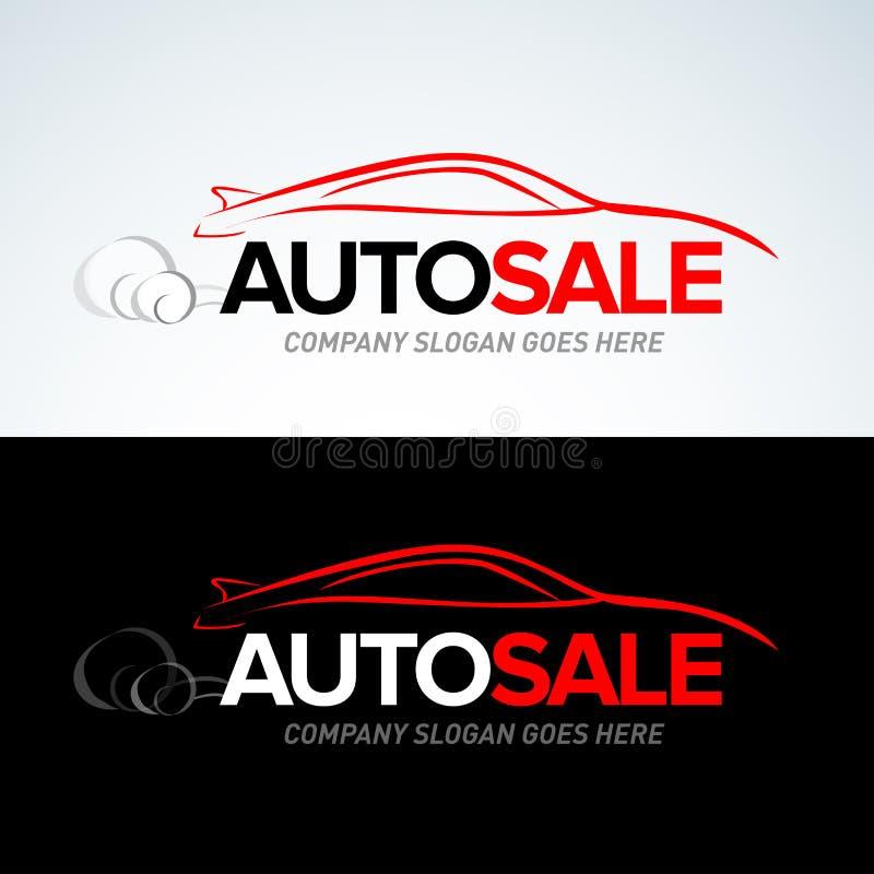 La plantilla del logotipo del coche de la venta auto, coches autos, logotipo del coche, velocidad, automotriz, auto mantiene el l libre illustration