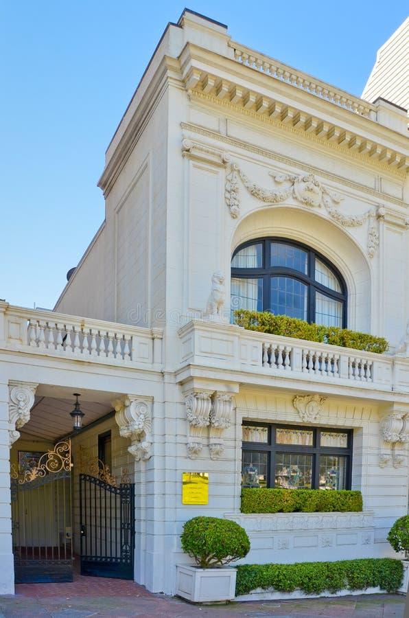 Maison victorienne à San Francisco photographie stock