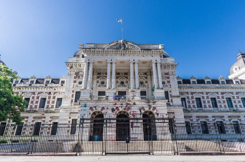 La Plata, Argentina - 31 marzo 2018: Camera di governo della provincia di Buenos Aires immagini stock