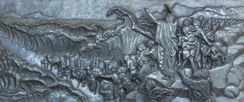 La plata talla arte sobre Jesús foto de archivo
