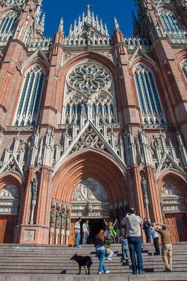 La Platas enorme Kathedrale nahe Buenos Aires, Argentinien lizenzfreies stockbild