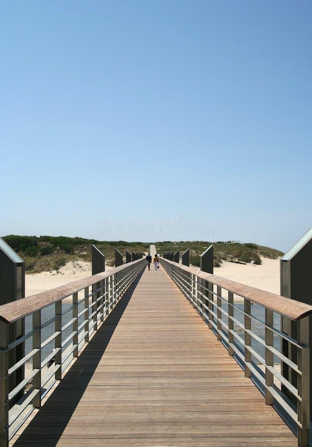 A la playa imagen de archivo libre de regalías
