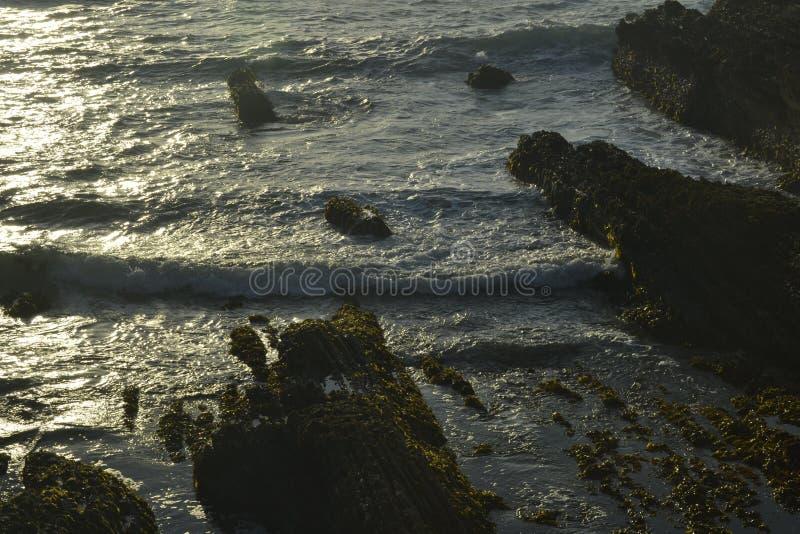 La playa de la costa imagen de archivo libre de regalías