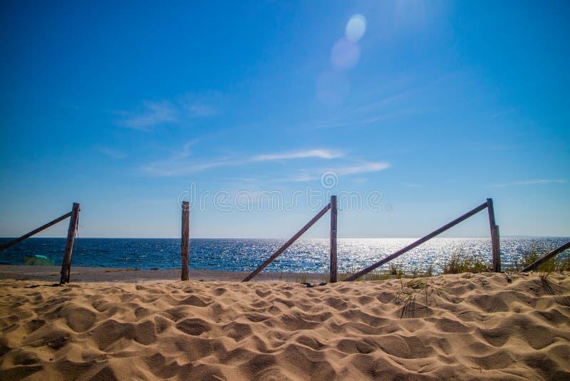 La playa de Marconi en la costa nacional de Cape Cod, Massachusetts imagen de archivo libre de regalías