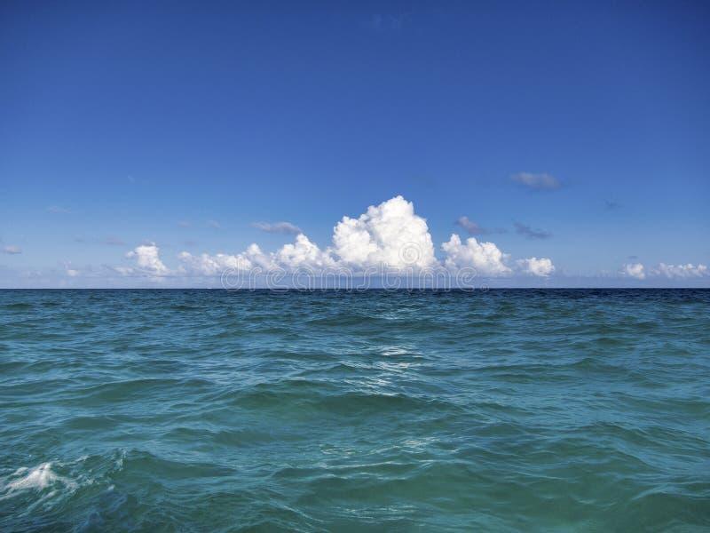 La playa de Tulum - México imágenes de archivo libres de regalías