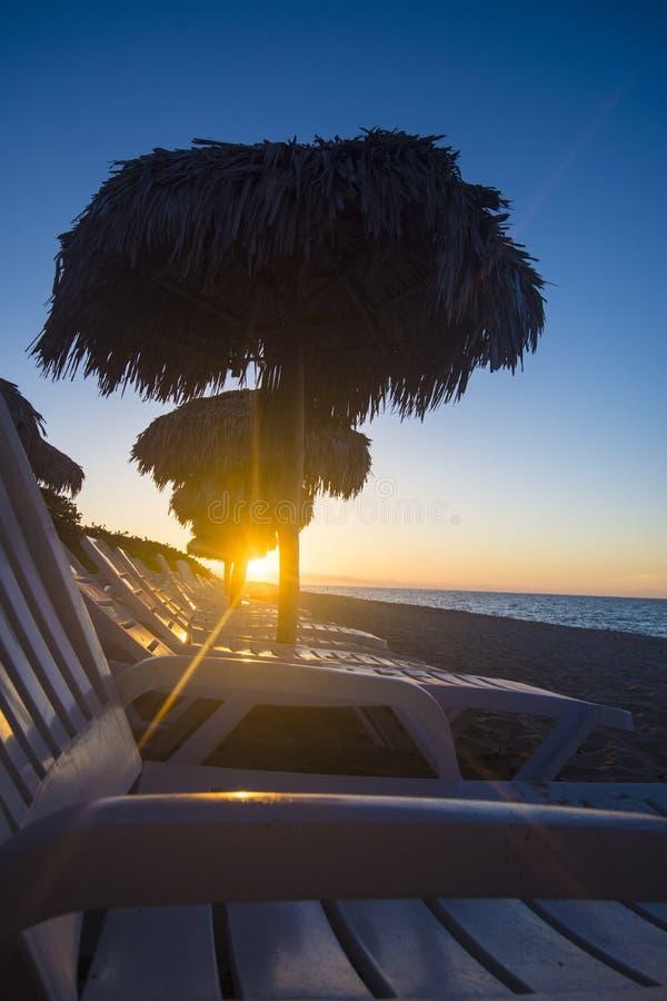 La playa de Varadero es un destino asombroso en el Caribbeans imagen de archivo libre de regalías