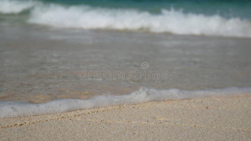 La playa del verano y el fondo de las vacaciones del día de fiesta del mar wallpaper imagenes de archivo
