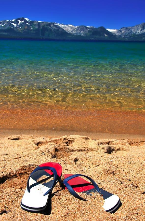 La playa exótica hermosa para se relaja imagen de archivo
