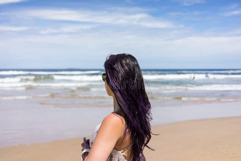 La playa hermosa de Punta del Este, Uruguay fotos de archivo libres de regalías