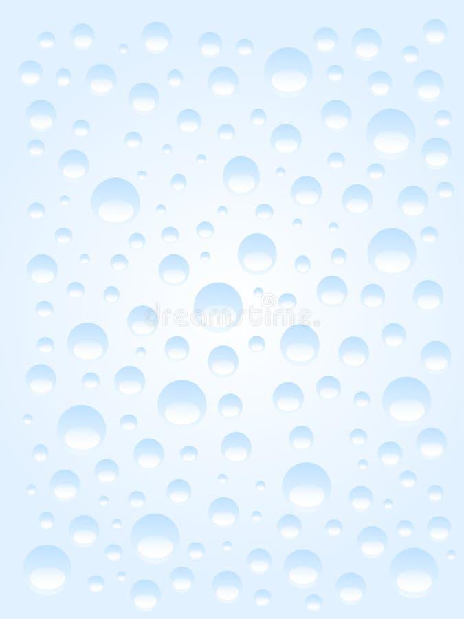 La pluie relâche le fond illustration de vecteur