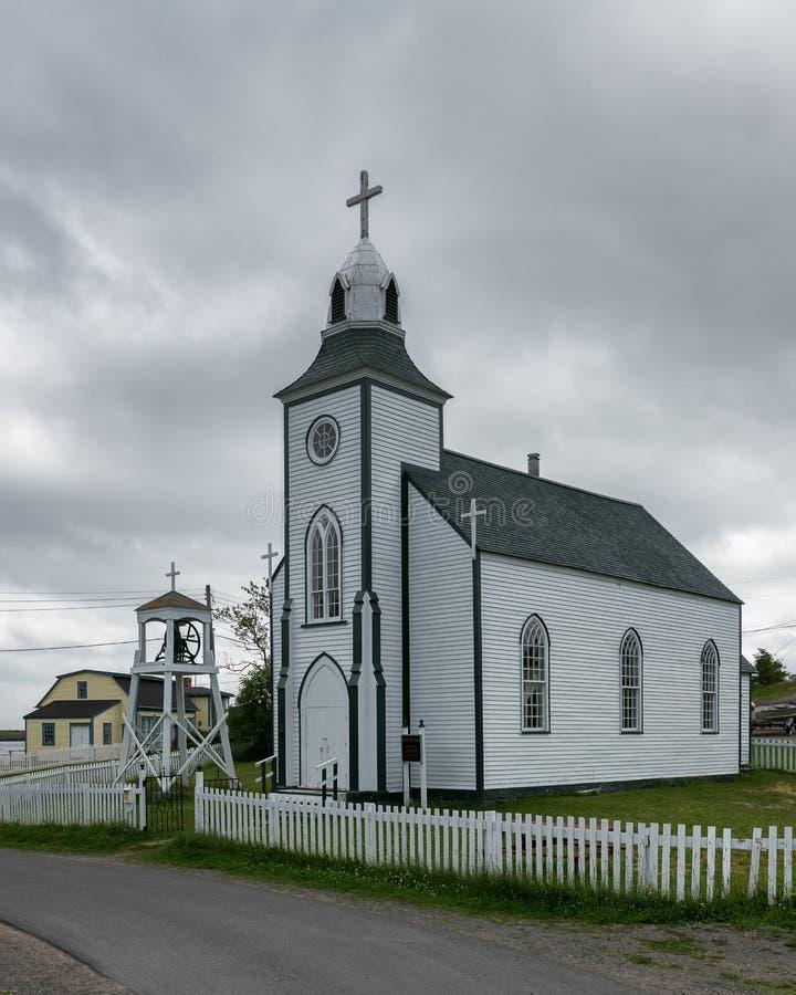 La plupart d'église Trinity sainte de Terre-Neuve photos stock