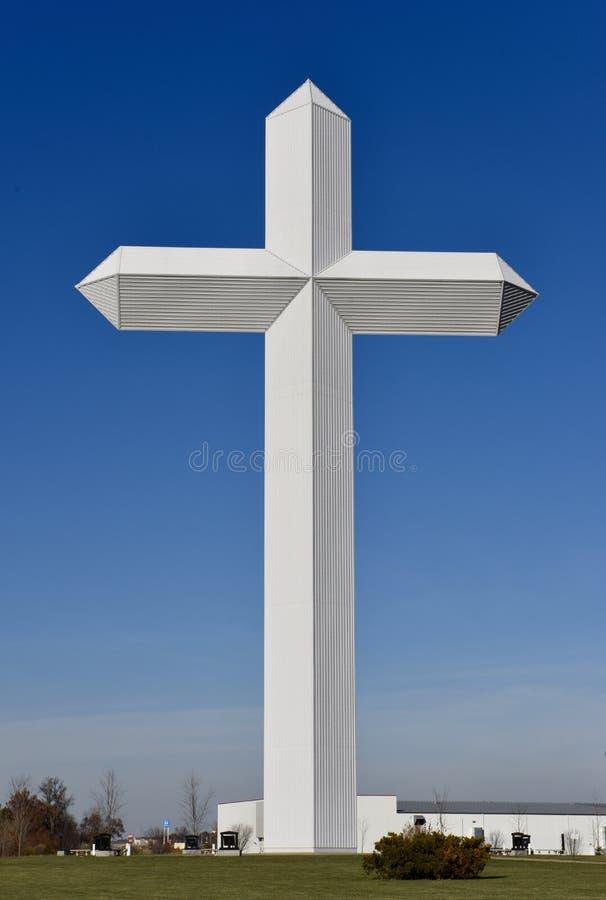 La plus grande croix d'America's photos stock