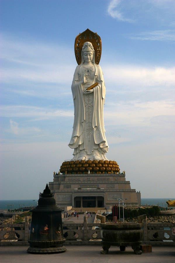 La plus grande statue au monde photographie stock
