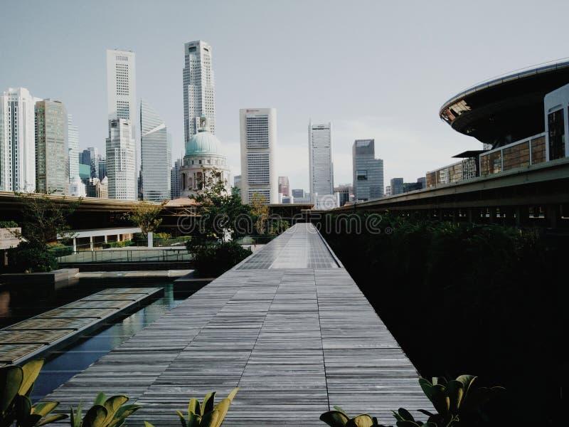 la plus haute ville photographie stock